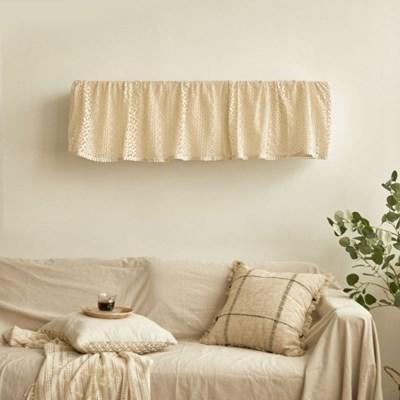 프리미엄 뜨개레이스 벽걸이 에어컨커버 레아