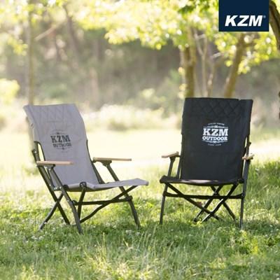카즈미 시그니처 데일 체어 K20T1C003 / 접이식 캠핑의자 로우체어