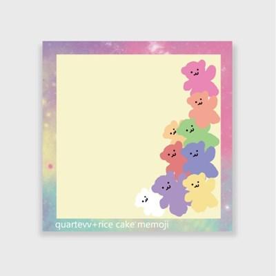 [떡메모지]pastel bear