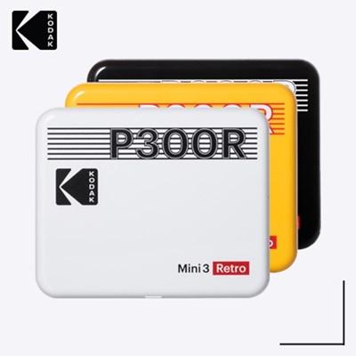 코닥 휴대용 포토프린터 미니 3 레트로 P300R 핸드폰 사진인화기