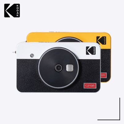 코닥 휴대용 포토프린터 즉석카메라 미니샷 2 레트로 콤보 C210R