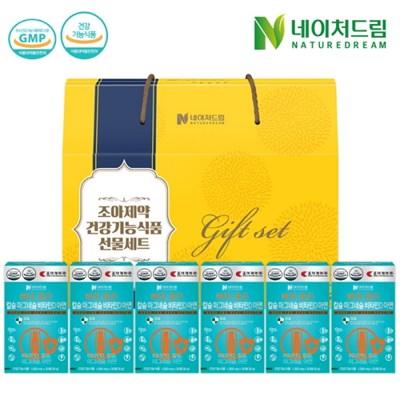 [조아제약] 칼슘마그네슘비타민D아연 30정*6박스 [선물박스 증정]
