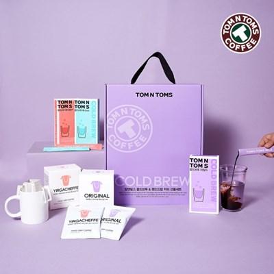 탐앤탐스 콜드브루&핸드드립 커피 선물세트_(1946285)