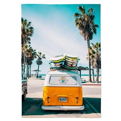 패브릭 포스터 여름 인테리어 카페 그림 액자 서핑버스