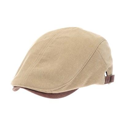 JCH02.챙배색 면 헌팅캡 남성 골프 모자 가을 봄 중년 아빠 선물