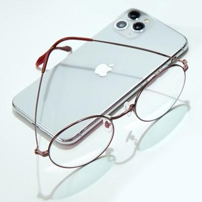20feet 블루라이트 근적외선 차단 원형테 안경 P-2002