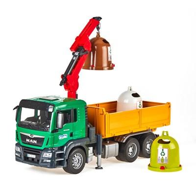 MAN TGS 트럭과 재활용 컨테이너 세트_(301821161)