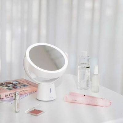 [쇼핑백증정]라이프썸 LED 거울+무선고데기 세트 택1