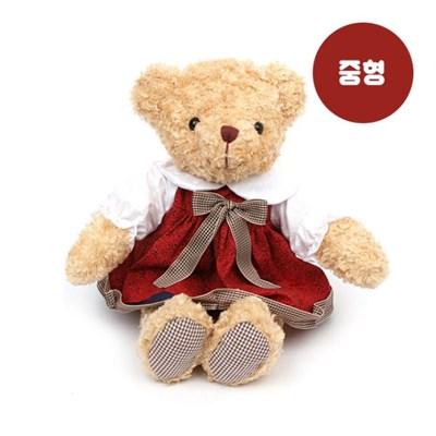 원피스테디베어(중형)-여자곰