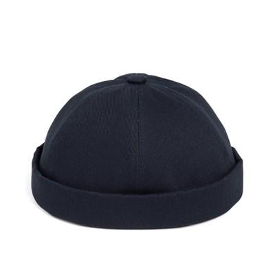 LB TWILL BRIMLESS CAP (navy)
