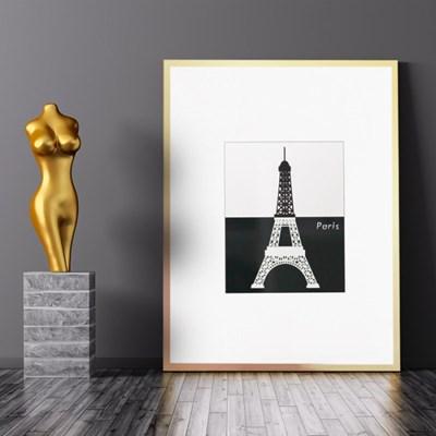 홈어롱 다용도 액자 테이블 에펠탑 M_(1540391)