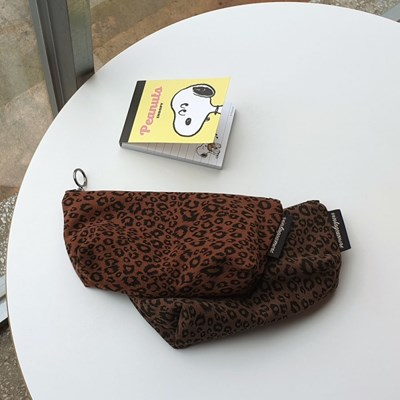 leopard pencil case