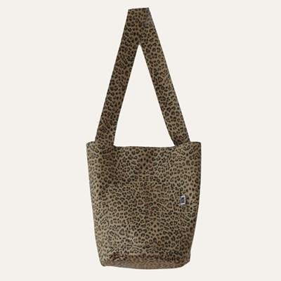노노bag leopard (shoulder size)
