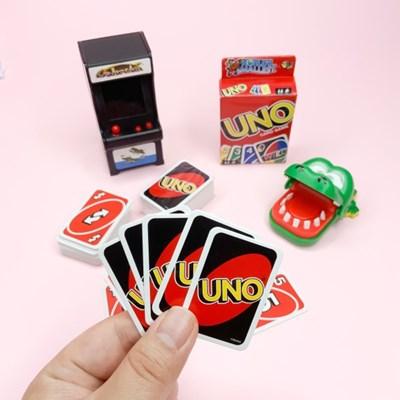 [맙소사잡화점] 미니어쳐 우노 카드 게임