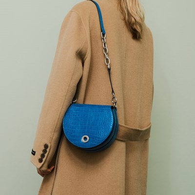 SELINA BAG_ROYAL BLUE CROCO_(287660)