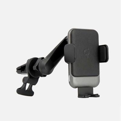 제노바 360도 회전형 무선 충전 거치대 송풍구 타입