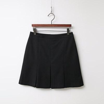Modern Pleated Mini Skirt