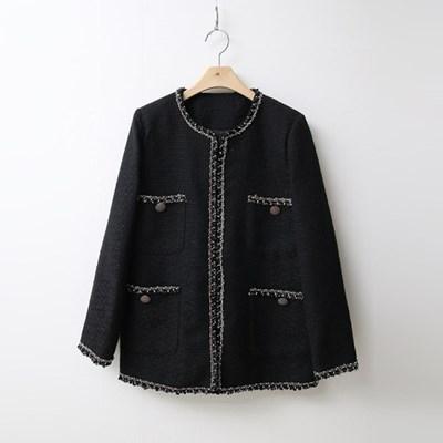 Tweed Pocket Jacket