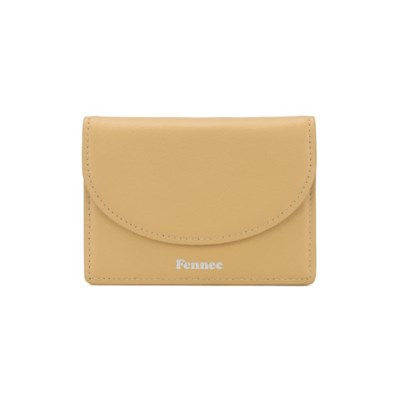 [3/30 예약배송]FENNEC HALFMOON ACCORDION POCKET - HAZE YELLOW