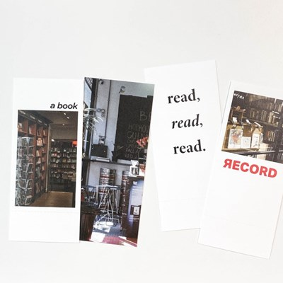 reading record card