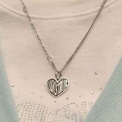 PO HEART NECKLACE(SILVER)_(4305487)