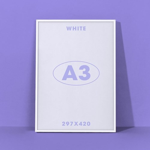A3아트프레임 - 화이트