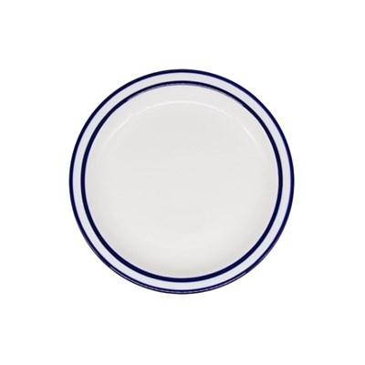 시라쿠스 라인 원형 접시 7인치 블루