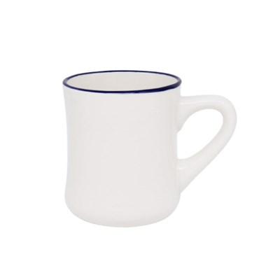 시라쿠스 라인 장구 머그컵 블루 400ml