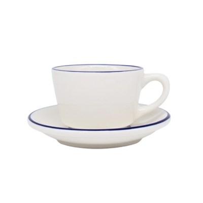 시라쿠스 라인 커피잔/받침 블루 200m_(1056913)
