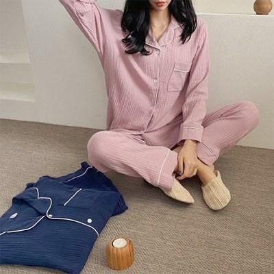 Soft Yolo Pajama Set - 커플룩