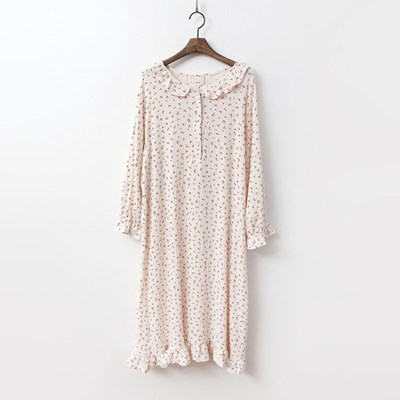 Cherry Sleepwear Dress