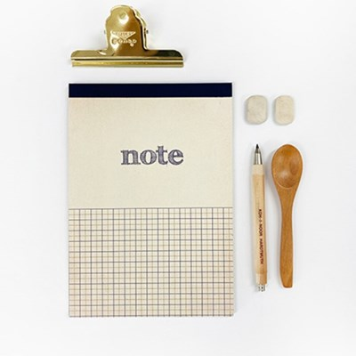 NOTE PAD A5 ver VINTAGE YELLOW 빈티지 모눈노트