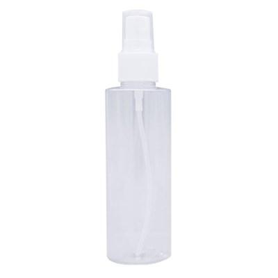 토미 스프레이 100ml빗살무늬 백색펌프 투명용기 공병