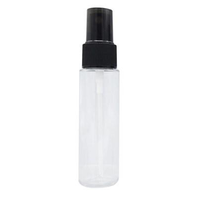 토미 스프레이 30ml 빗살무늬 검정펌프 투명용기 공병