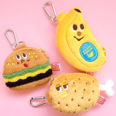 [GLADEE] 그라디 에어팟 케이스 :: 바나나,햄버거,닭다리