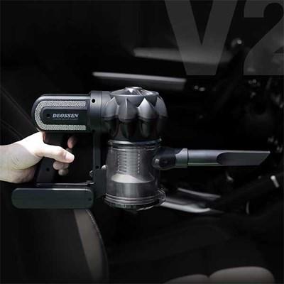 자동차 싸이클론 무선 청소기 더쎈 V2_(439398)