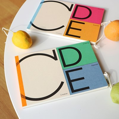 C.D.E Drawing Book (드로잉북 2종)