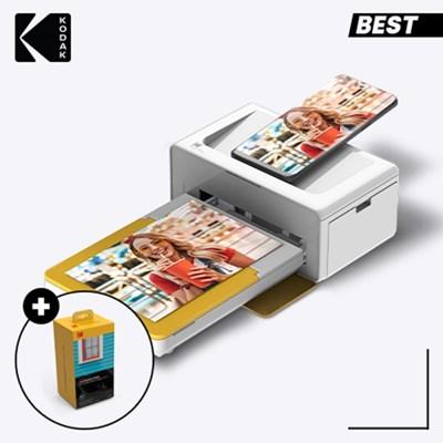 코닥 가정용 포토프린터 도크 2 PD460 + 카트리지 80매
