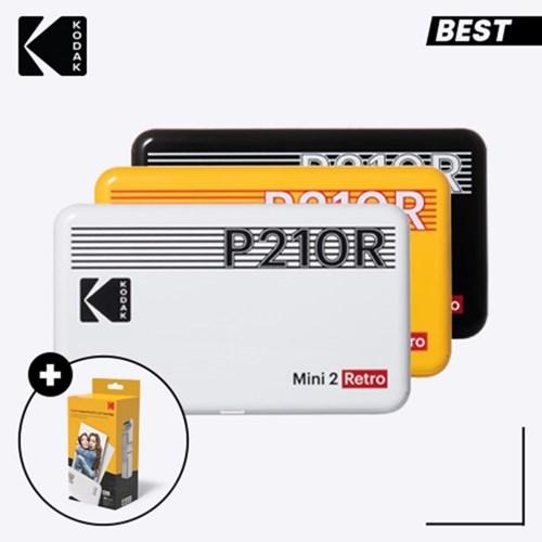 코닥 휴대용 포토프린터 미니 2 레트로 P210R + 카트리지 30매