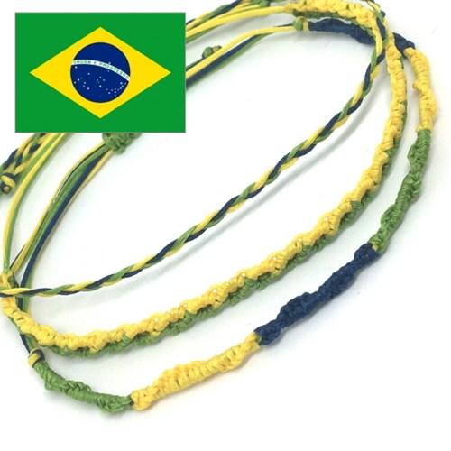 디애틱 NUDO 매듭팔찌 국기에디션 - 브라질