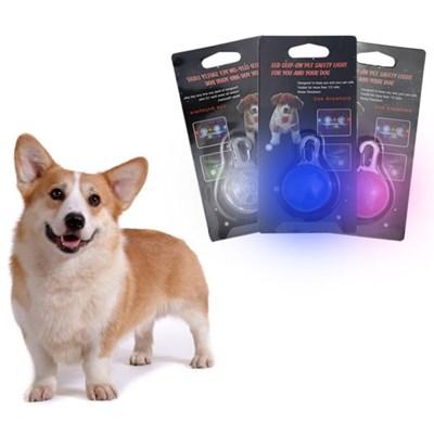 강아지 LED목줄 야광 펜던트 안전등 라이트 3종 세트