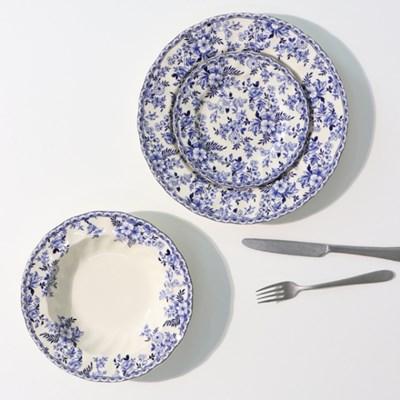 존슨브라더스 빈티지 그릇 디저트 접시