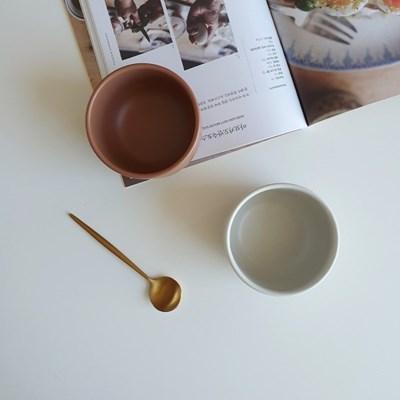 포홈 모던무광 후식볼 그릇 (4color)_(2215145)