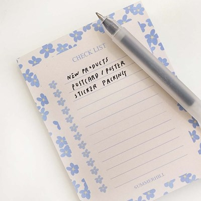 Forget me not check list