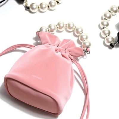 러브참 머메이드 진주 버킷백[Mermaid bucket bag]Pink