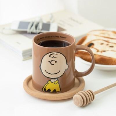 [Peanuts] 머그컵_스누피와 친구들_찰리브라운