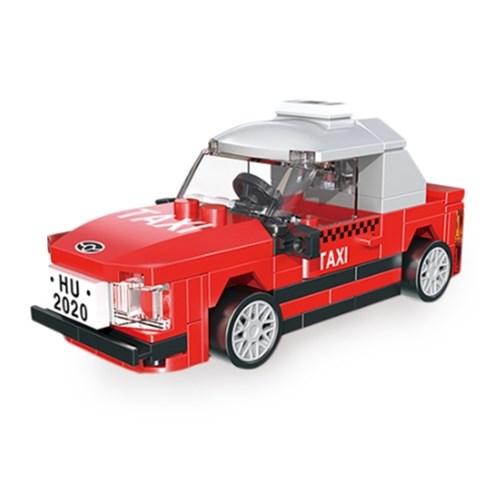 미니 풀백 자동차타입B-2 택시 미니 블럭