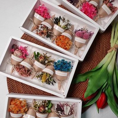 생일선물 자석꽃다발 5종 선물박스