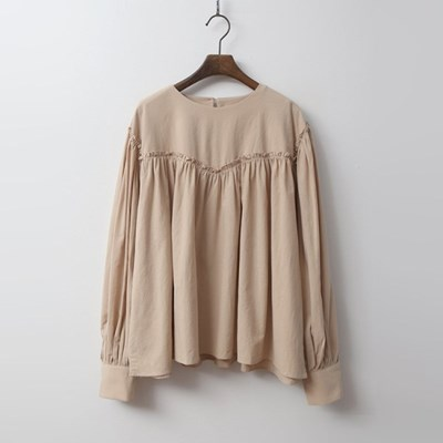Shirring Puff Blouse