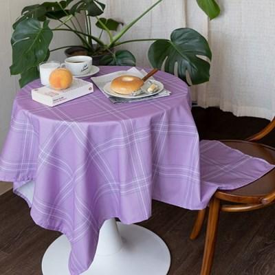 쉐어미들퍼플 식탁보 테이블보 2size 테이블러너